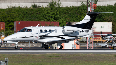 N244MD - Embraer 500 Phenom 100 - Private