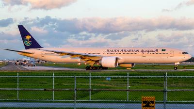 HZ-AK13 - Boeing 777-368ER - Saudi Arabian Airlines