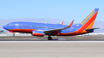 N231WN - Boeing 737-7H4 - Southwest Airlines