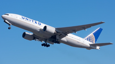 A picture of N792UA - Boeing 777222(ER) - United Airlines - © Jordan Louie