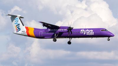 A picture of GPRPN - De Havilland Canada Dash 8400 - Flybe - © Jesse Vervoort