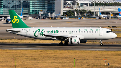 A picture of B6301 - Airbus A320214 - Spring Airlines - © Jackson Zheng