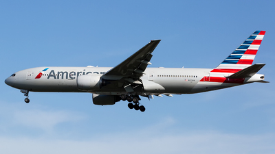 A picture of N777AN - Boeing 777223(ER) - American Airlines - © Chris Pitchacaren