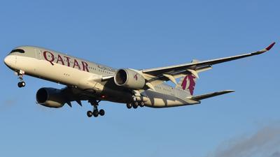A picture of A7ALS - Airbus A350941 - Qatar Airways - © Adam Lanzen