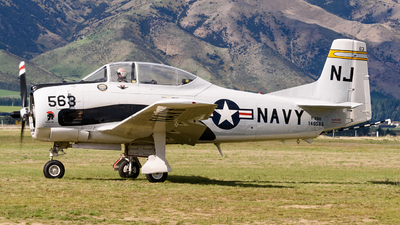ZK-JGS - North American T-28C Trojan - Private