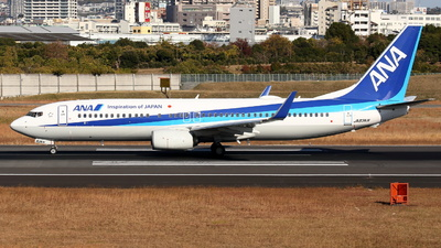 A picture of JA83AN - Boeing 737881 - All Nippon Airways - © Tokubee