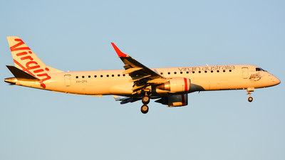 VH-ZPK - Embraer 190-100IGW - Virgin Australia Airlines