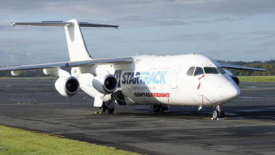 VH-NJF - British Aerospace BAe 146-300(QT) - Cobham Aviation Services Australia