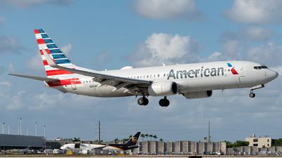 A picture of N891NN - Boeing 737823 - American Airlines - © Luis Bastardo