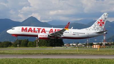 9H-VUD - Boeing 737-8-200 MAX - Malta Air