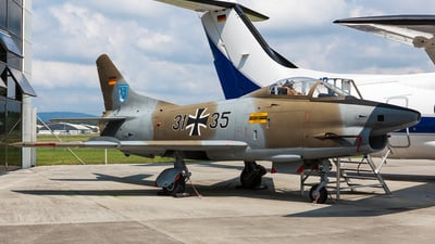 31-35 - Fiat G91-R/3 - Germany - Air Force