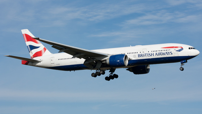 A picture of GVIIX - Boeing 777236(ER) - British Airways - © Ozell V. Stephens Jr.