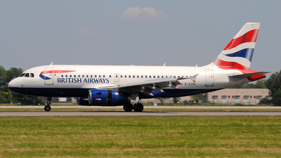 G-EUOI - Airbus A319-131 - British Airways