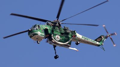 I-CFAH - Sikorsky S-64F Skycrane - Italy - Vigili del Fuoco