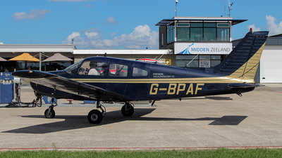 G-BPAF - Piper PA-28-161 Cherokee Warrior II - Private
