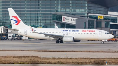 A picture of B208Y - Boeing 73789P - China Eastern Airlines - © Patrick-ZHOU