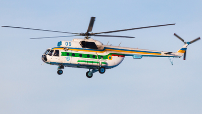 09 - Mil Mi-9 Hip G - Ukraine - Border Guard