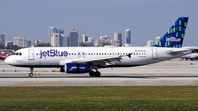 A picture of N784JB - Airbus A320232 - JetBlue Airways - © Filipe Couceiro