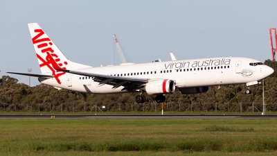 A picture of VHYIT - Boeing 7378FE - Virgin Australia - © Brandon Giacomin