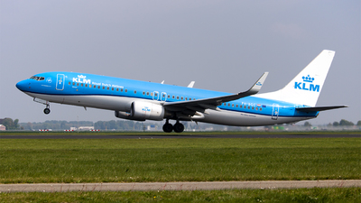 PH-BGC - Boeing 737-8K2 - KLM Royal Dutch Airlines