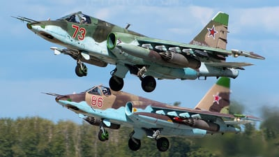 73 - Sukhoi Su-25BM Frogfoot - Russia - Air Force