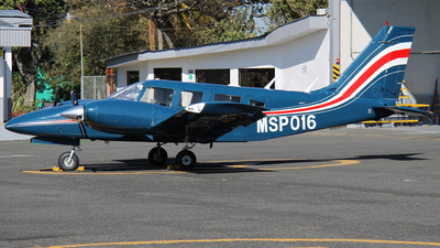 MSP016 - Piper PA-34-200T Seneca II - Costa Rica - Ministry of Public Security