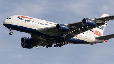 G-XLEJ - Airbus A380-841 - British Airways