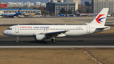 A picture of B2337 - Airbus A320214 - China Eastern Airlines - © SEN BAI