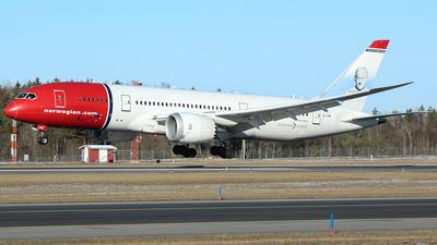 LN-LNB - Boeing 787-8 Dreamliner - Norwegian
