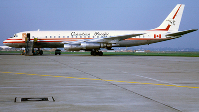 CF-CPG - Douglas DC-8-43 - Canadian Pacific Air Lines