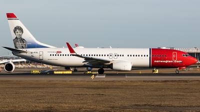 EI-FVL - Boeing 737-8JP - Norwegian
