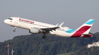 A picture of DAIZQ - Airbus A320214 - Eurowings - © Tomasz Habaj