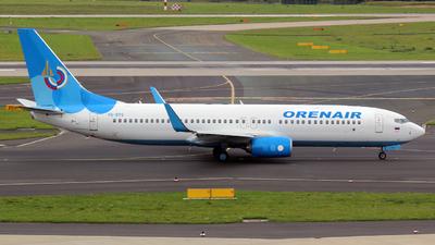 VQ-BTG - Boeing 737-8FZ - Orenair