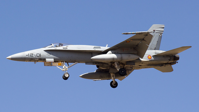 C.15-13 - McDonnell Douglas EF-18A+ Hornet - Spain - Air Force