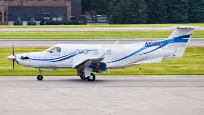 A picture of N512NG - Pilatus PC12/45 - Boutique Air - © Santiago Arias