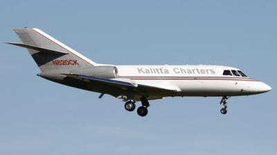 A picture of N820CK - Dassault Falcon 20 - Kalitta Charters - © Gilbert Hechema