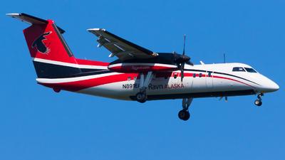 A picture of N891EA - De Havilland Canada Dash 8100 - [335] - © Martin Rogosz