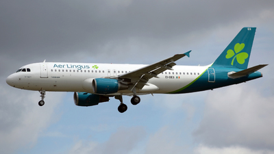 A picture of EIDES - Airbus A320214 - Aer Lingus - © Peter Baldwin