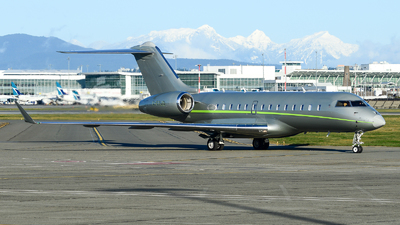 C-FPJD - Bombardier BD-700-1A11 Global 5000 - Private