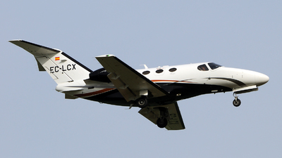 A picture of ECLCX - Cessna 510 Citation Mustang - Heron Luftfahrt - © Rafael Alvarez Cacho