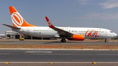 PR-GXJ - Boeing 737-8EH - GOL Linhas Aereas