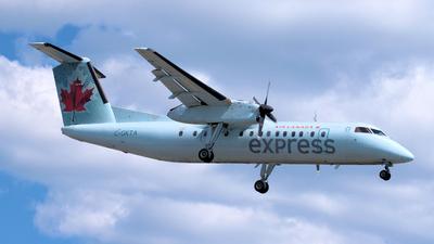 A picture of CGKTA - De Havilland Canada Dash 8300 - Air Canada - © northstardc4m