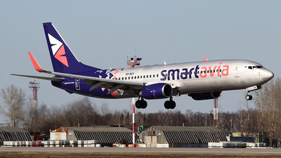 A picture of VPBEV - Boeing 73789P - Smartavia - © Airyura