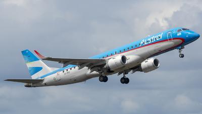 A picture of LVCKZ - Embraer E190AR - Aerolineas Argentinas - © Marcelo Allende