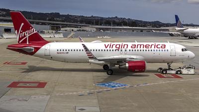 N284VA - Airbus A320-214 - Virgin America