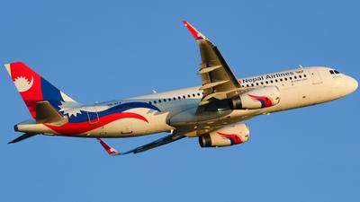 9N-AKX - Airbus A320-233 - Nepal Airlines