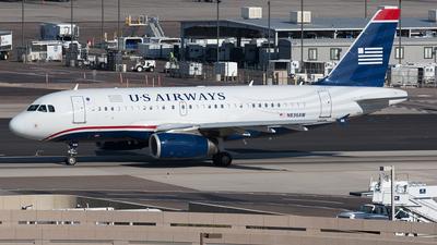 N836AW - Airbus A319-132 - US Airways