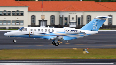M-CITY - Cessna 525 Citation CJ3 - Private