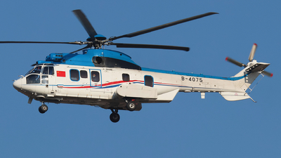 B-4075 - Eurocopter EC 225LP Super Puma II+ - China - Air Force