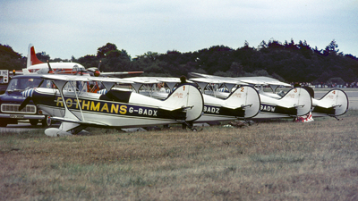 G-BADX - Pitts S-2A Special - Rothmans Aerobatic Team